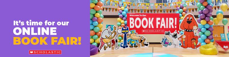 Virtual Scholastic Book Fair - April 8th - April 21st Featured Photo