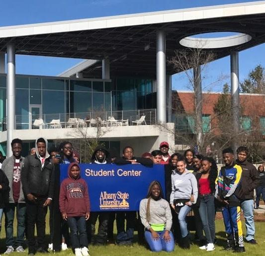 Albany State Visit
