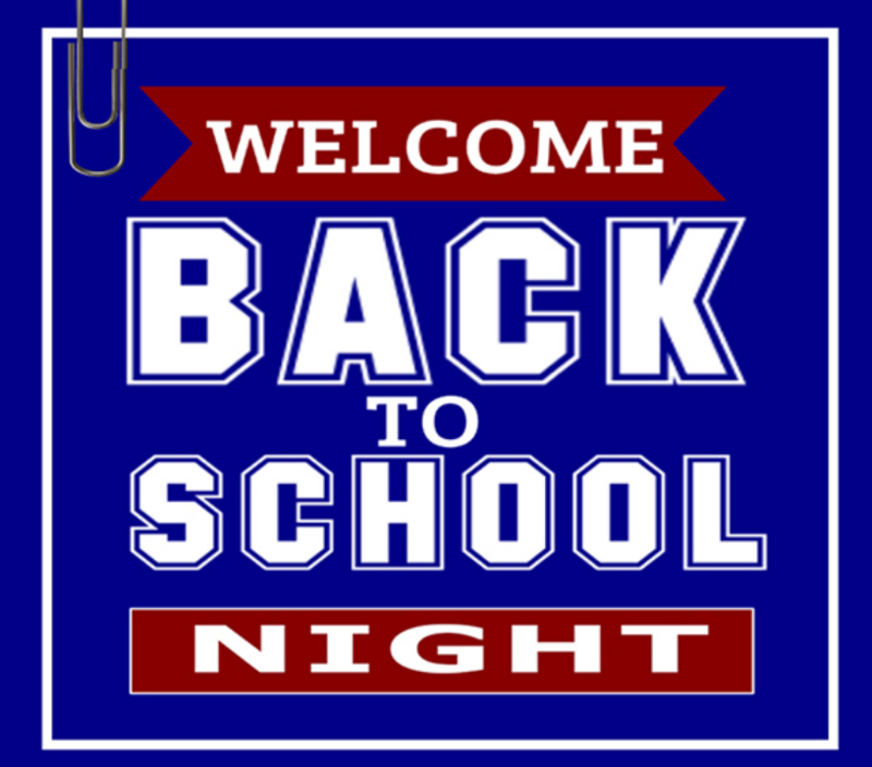 Back To School Night  - August 27th  - 6:30 pm - 8:00 pm Featured Photo