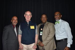 Lamkin Butts, President and Chief Operating Officer of Sanderson Farms, Inc., visits McComb High School and Speaks at the Jobs for Mississippi Graduates (JMG) Summit
