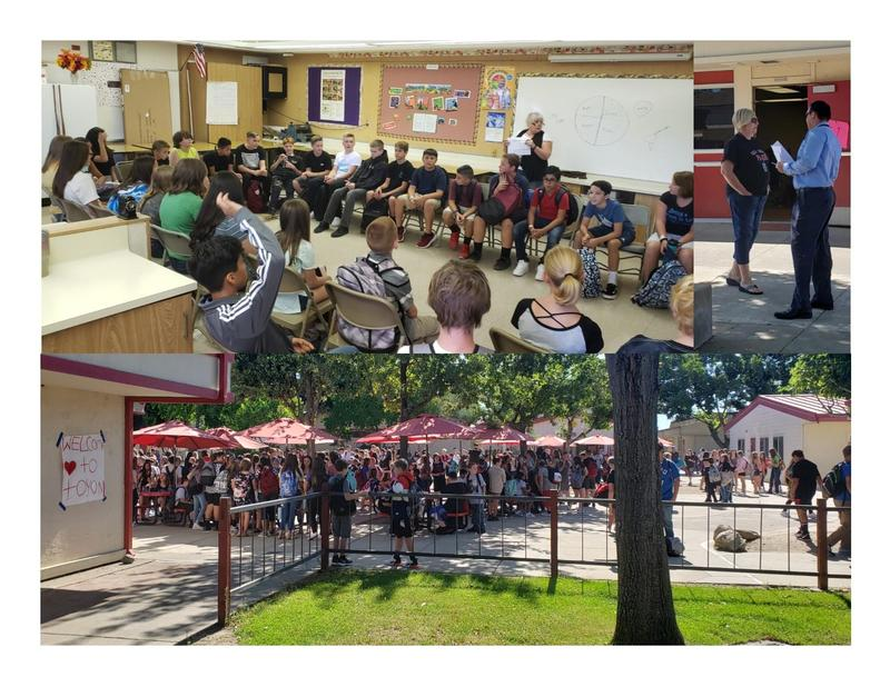 Warrior Welcome collage picture