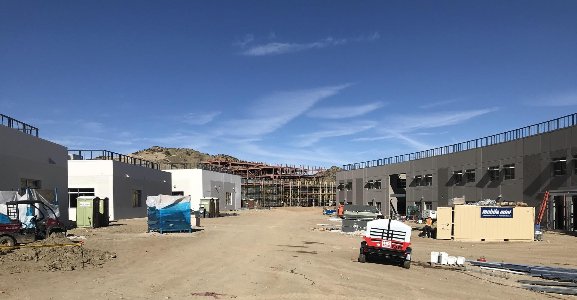 Castaic High School construction update December 19, 2018