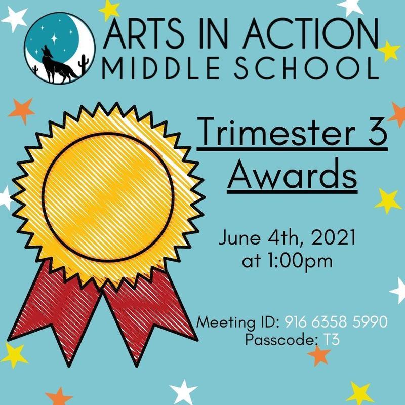 Middle School Trimester 3 Awards/ Premios del tercer trimestre de la escuela secundaria Thumbnail Image
