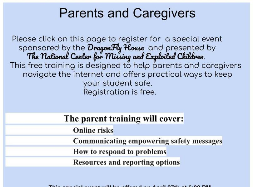 Special training for parents and caregivers