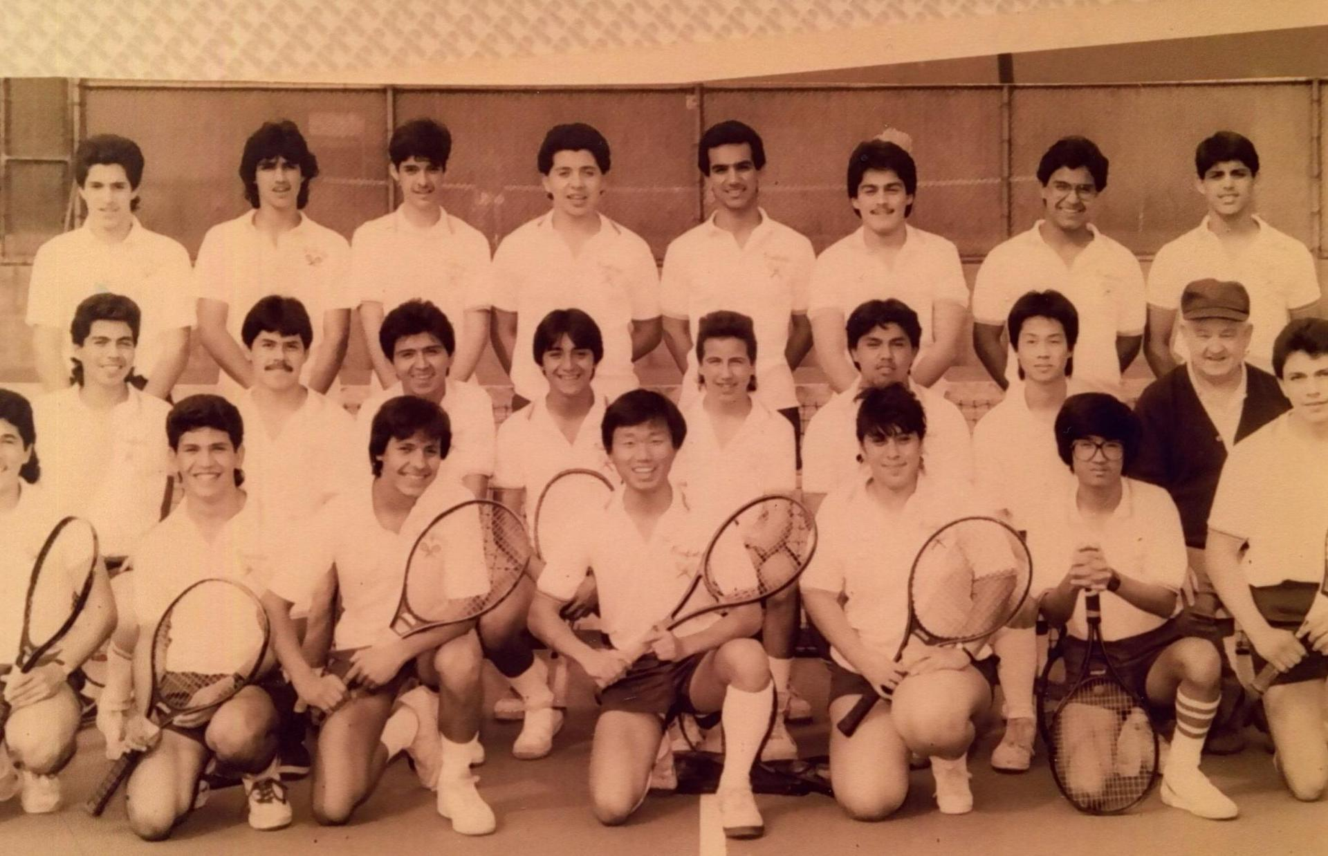 He coached so many tennis teams to championships
