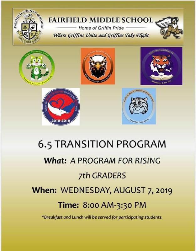 Poster announcing program