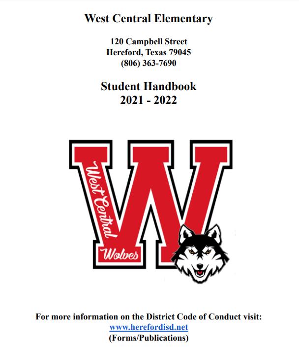 West Central Student Handbook