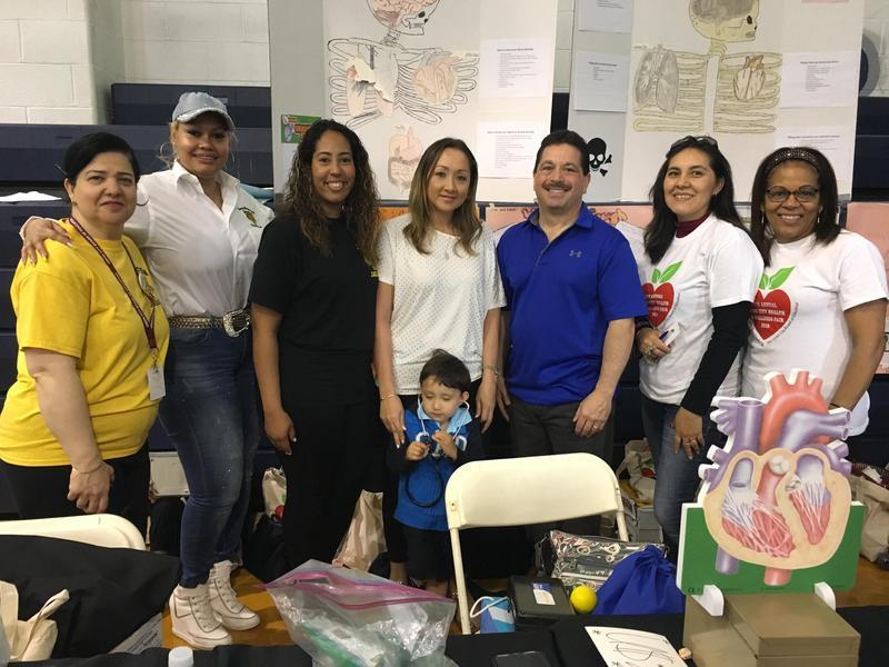 Mr. Celebrano and staff