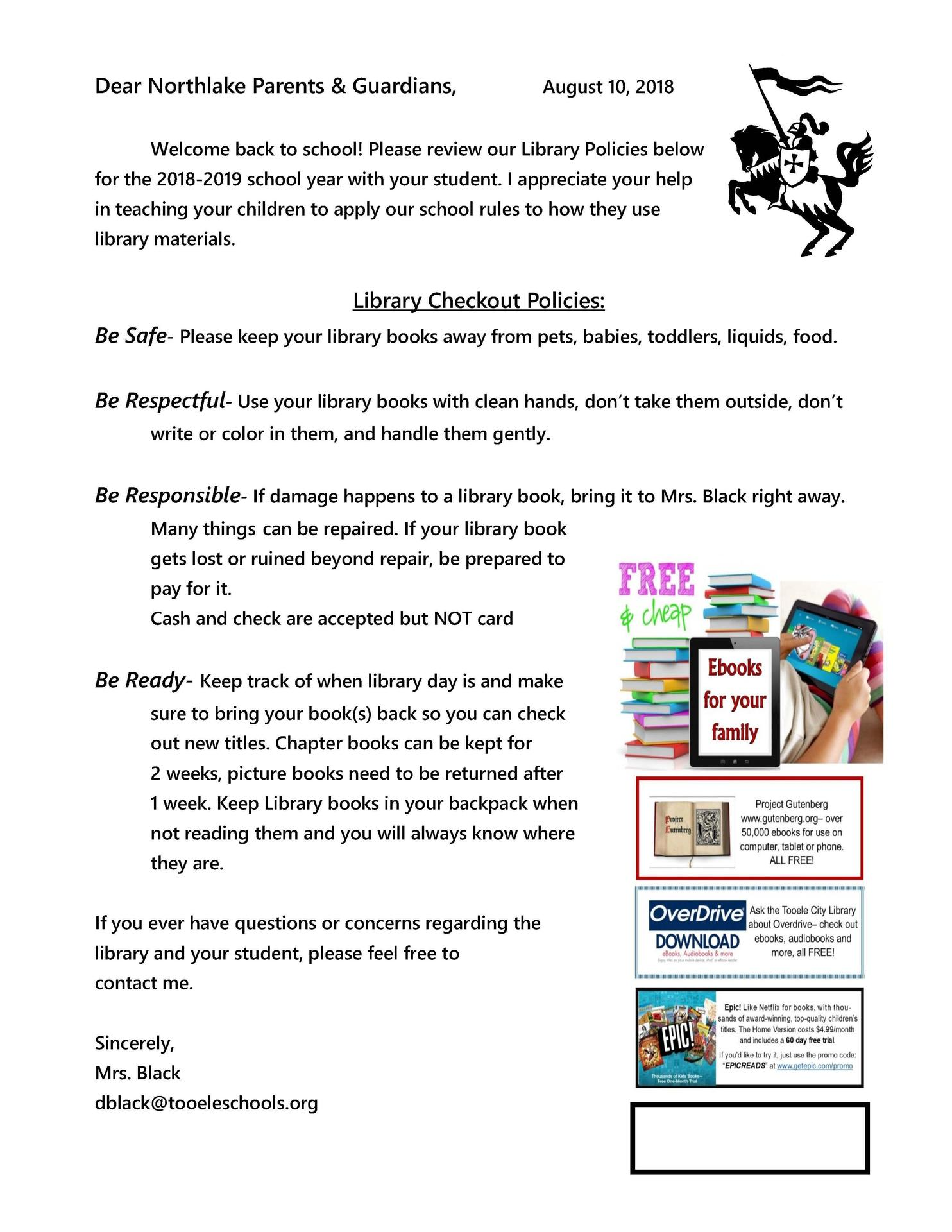 Parent Letter English