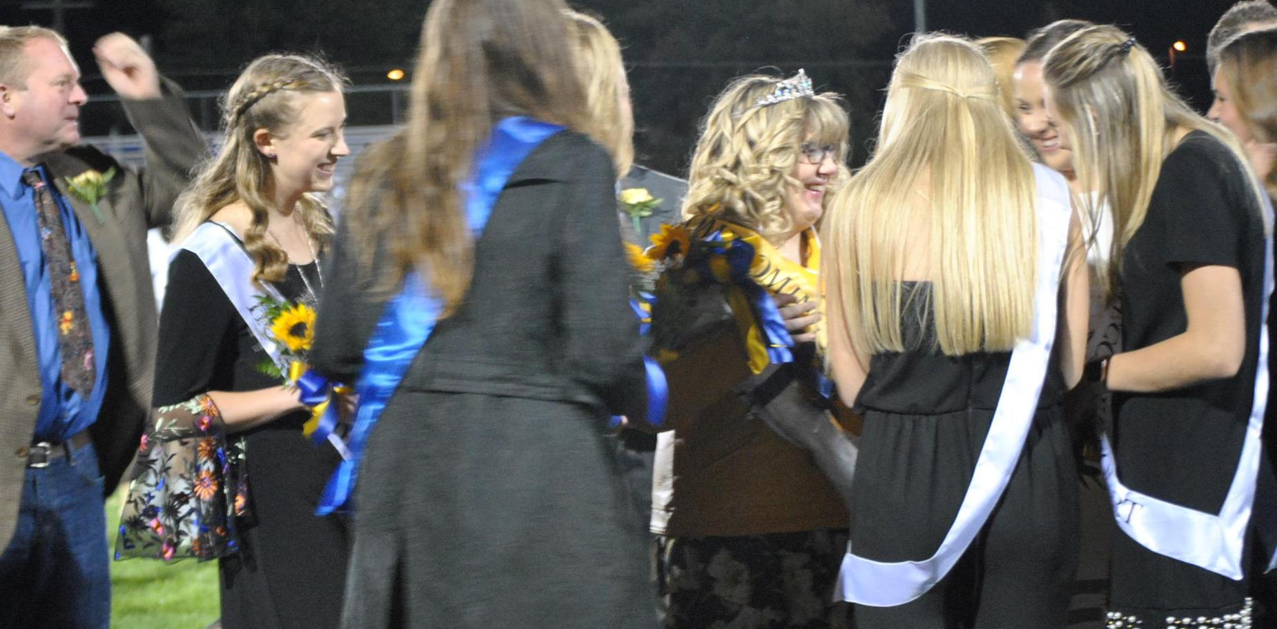 Crowning of Homecoming Queen
