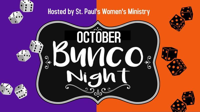 October Ladies Bunco Featured Photo