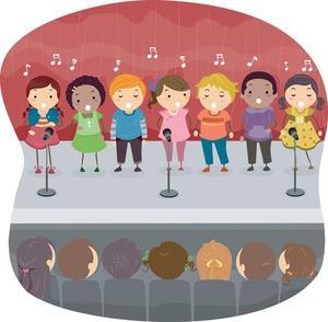 Concert-Kids clipart