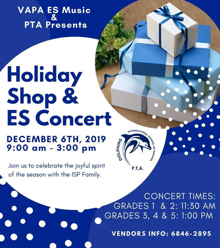 SAVE THE DATE DECEMBER 6 ANNUAL HOLIDAY CONCERT & HOLIDAY SHOP Featured Photo
