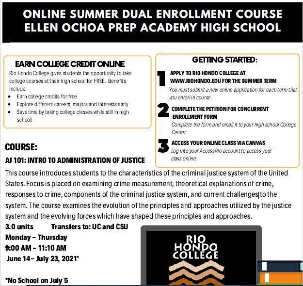 Rio Hondo Summer Course