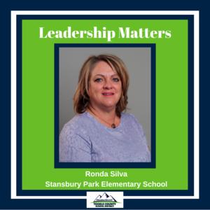 Ronda Silva, Principal of Stansbury Park Elementary