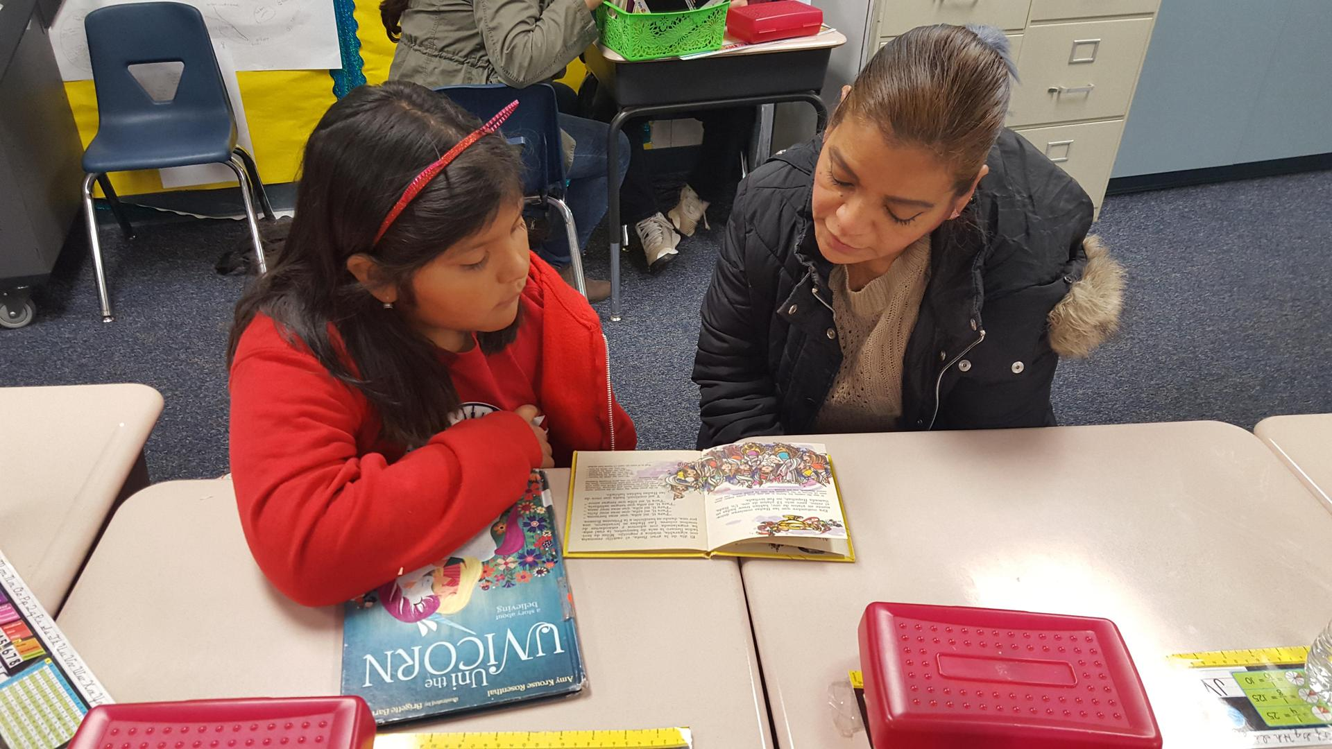 Latino Literacy participants