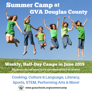 GVA-DC Summer Camp 2019