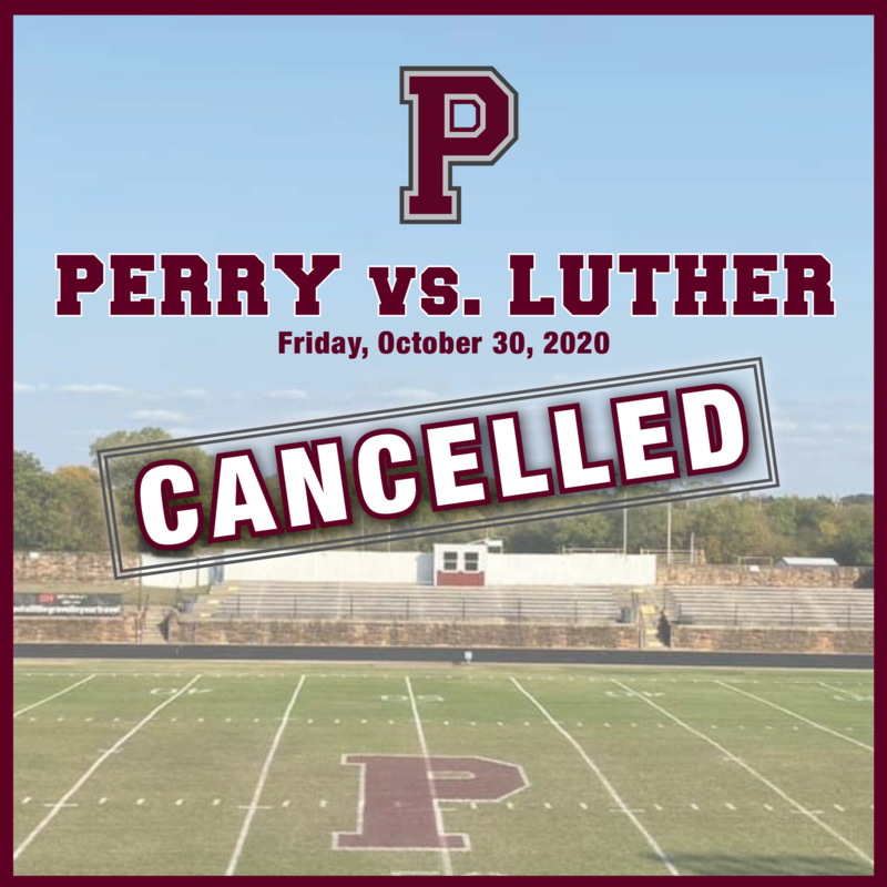 Game cancelled