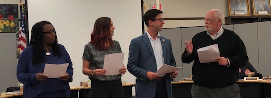 New Board Members Take Oath of Office Featured Photo