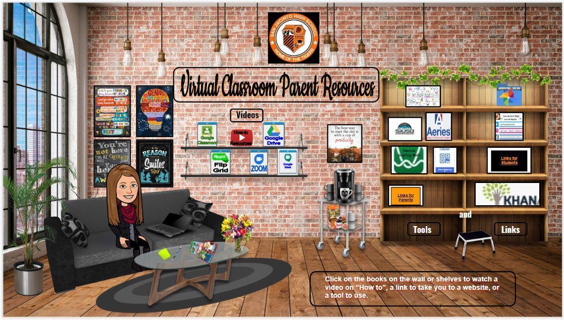 Virtual Parent Classroom Resources