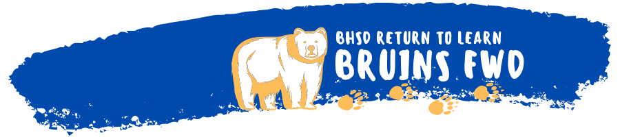 BHSD Back to School Bear
