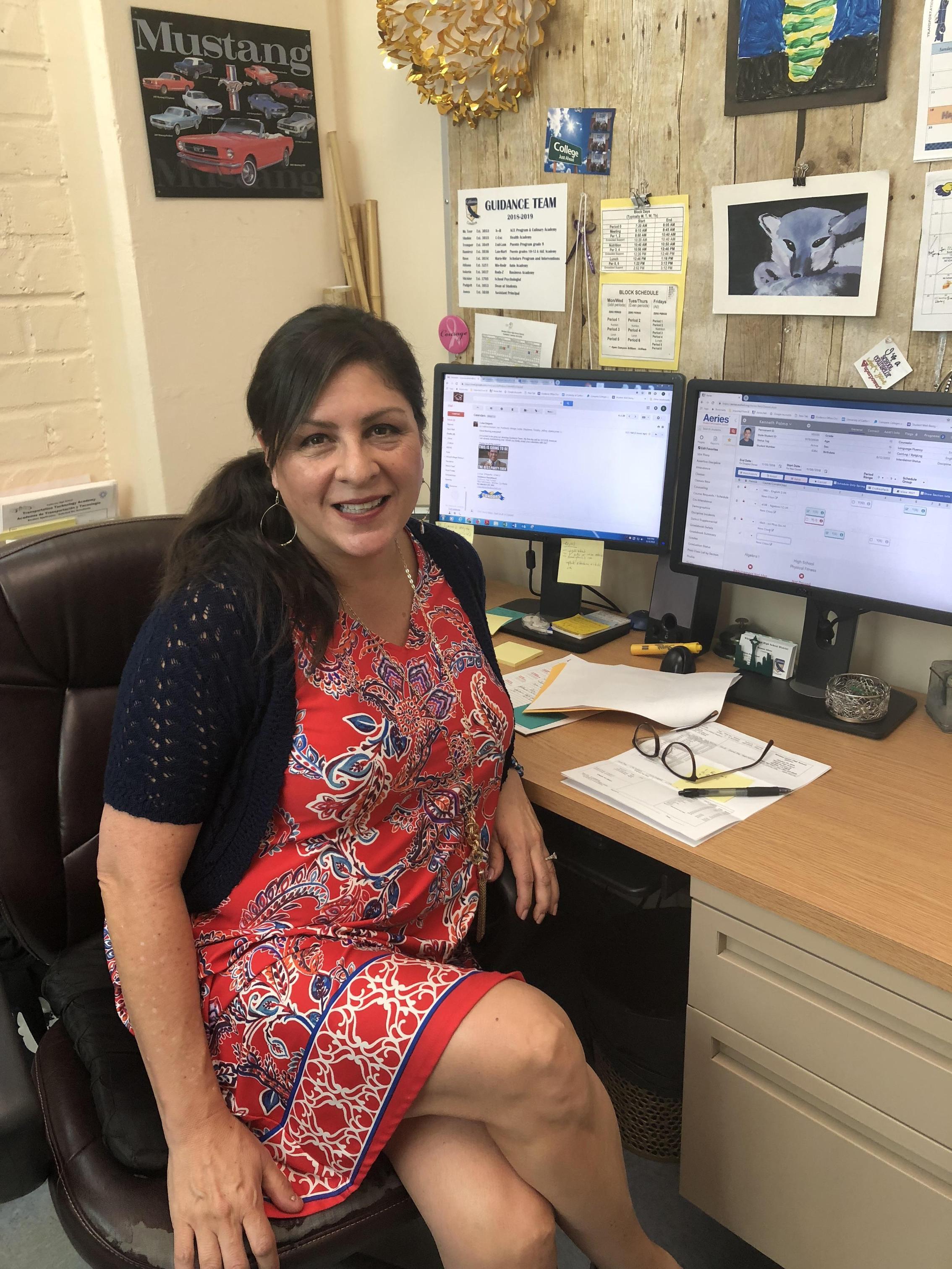 Rosanne Atilano, Counselor