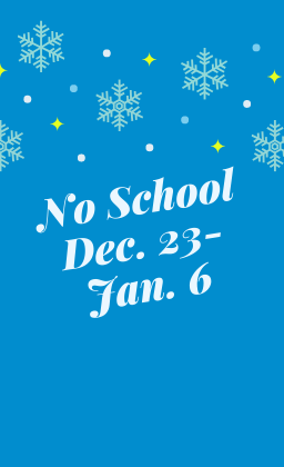 no school graphic