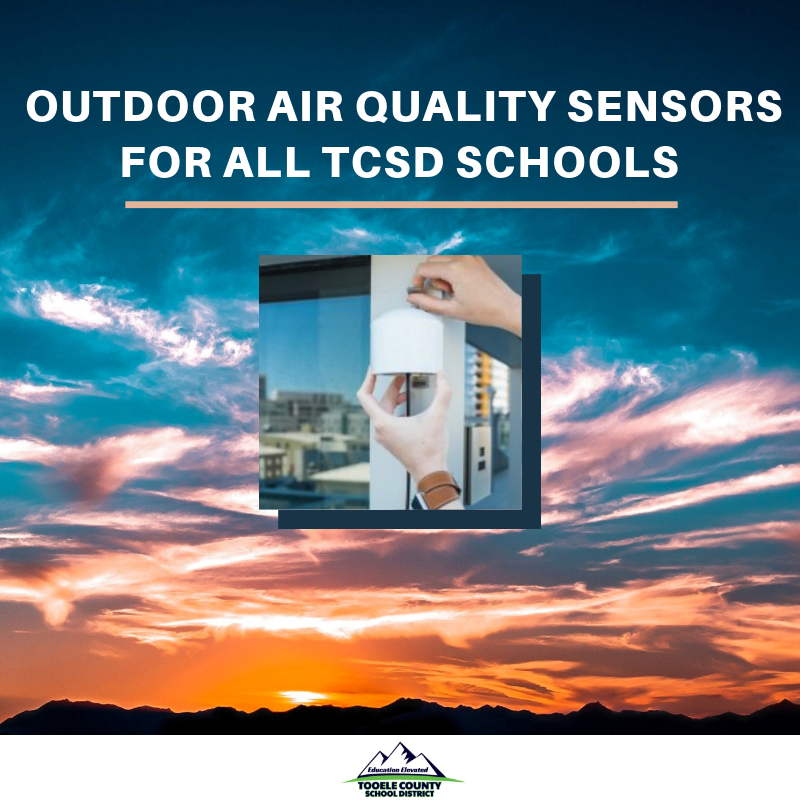 Outdoor Air Quality Sensors at all TCSD schools Thumbnail Image