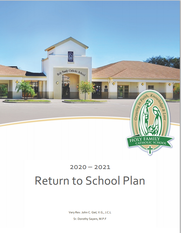 Return To School Plan 2020-2021 Featured Photo