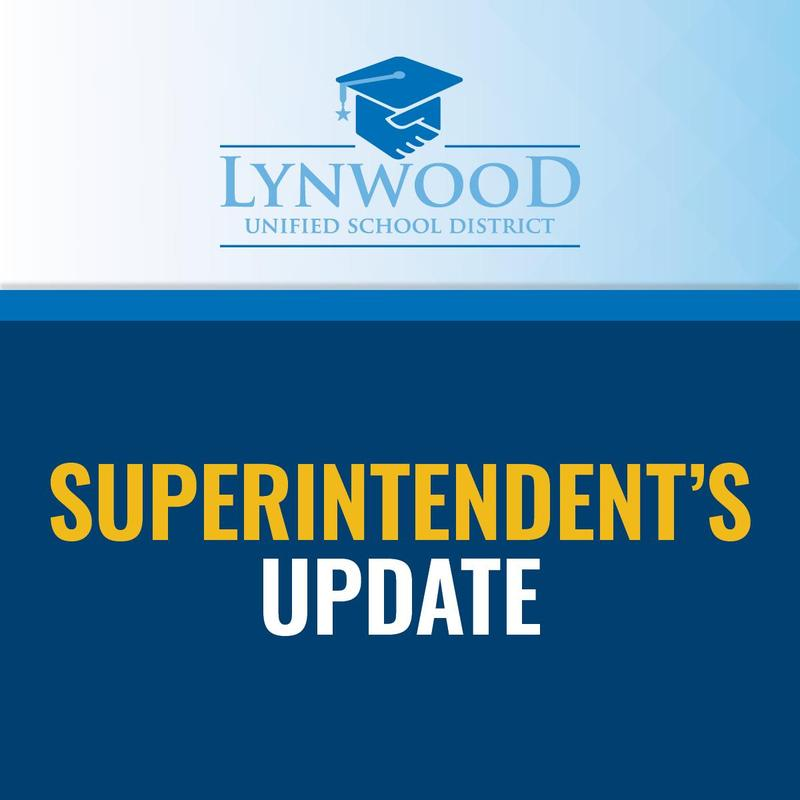 Superintendent's Update 11.18.20/Actualización del Superintendente Unificado de Lynwood 11.18.20 Featured Photo