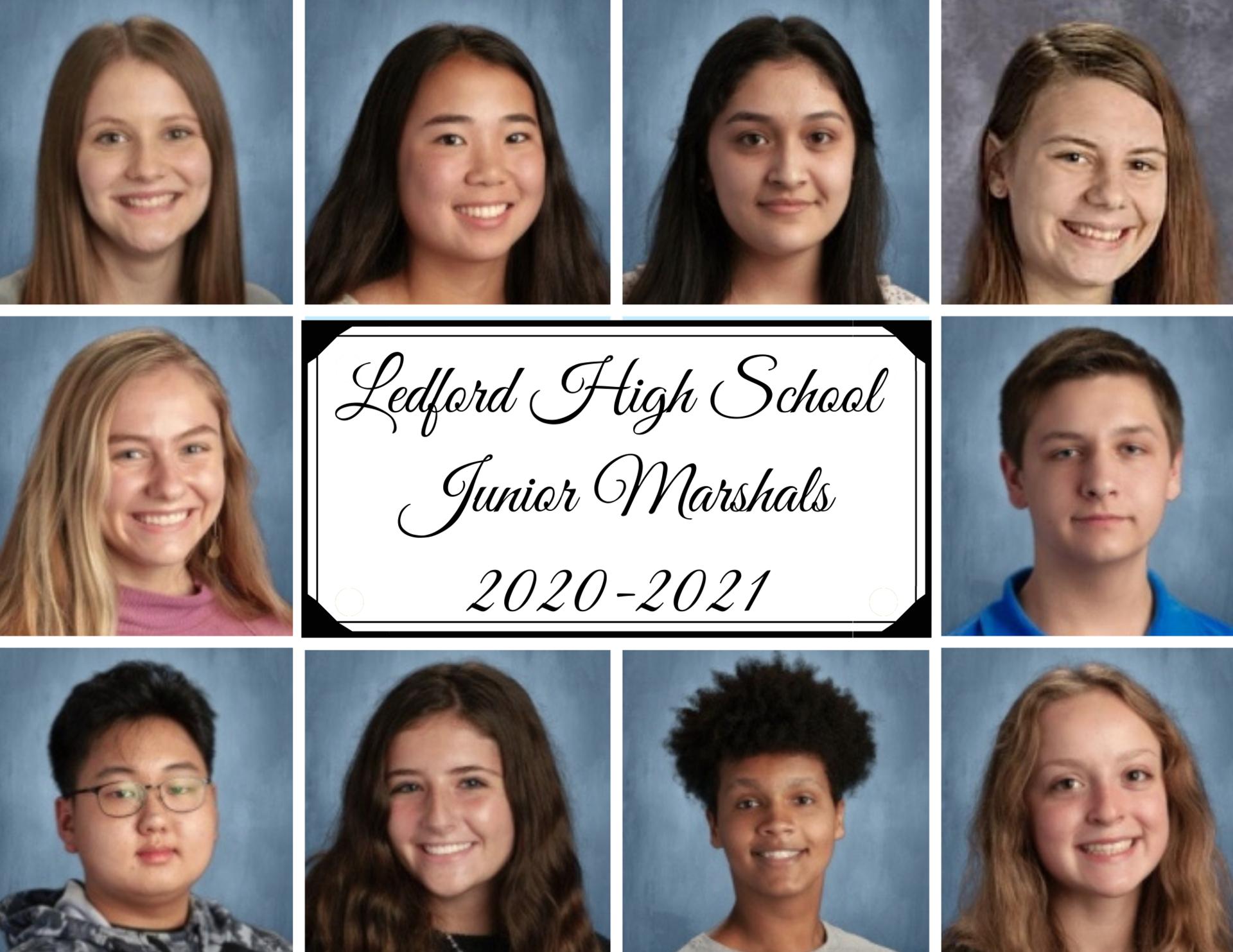 2020-2021 Junior Marshals