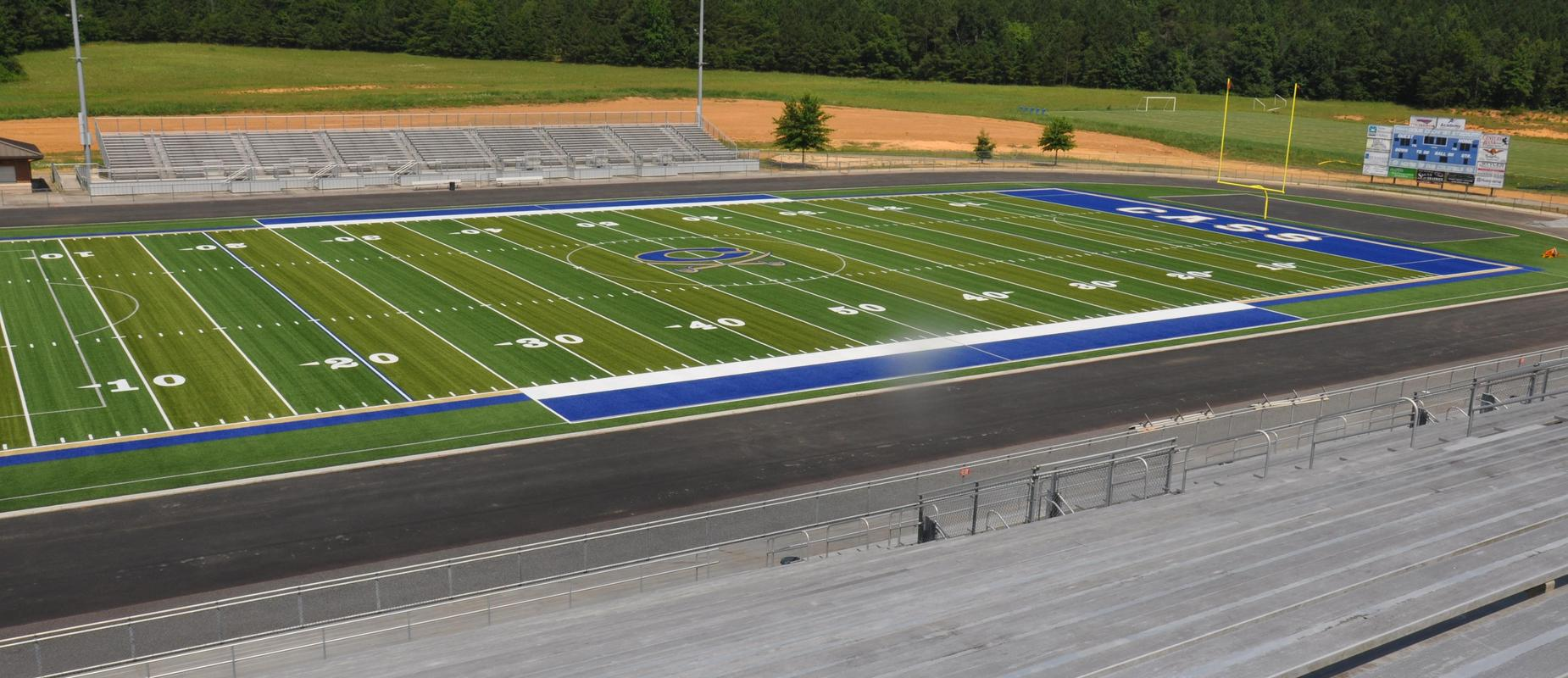 New Turf at Cass High