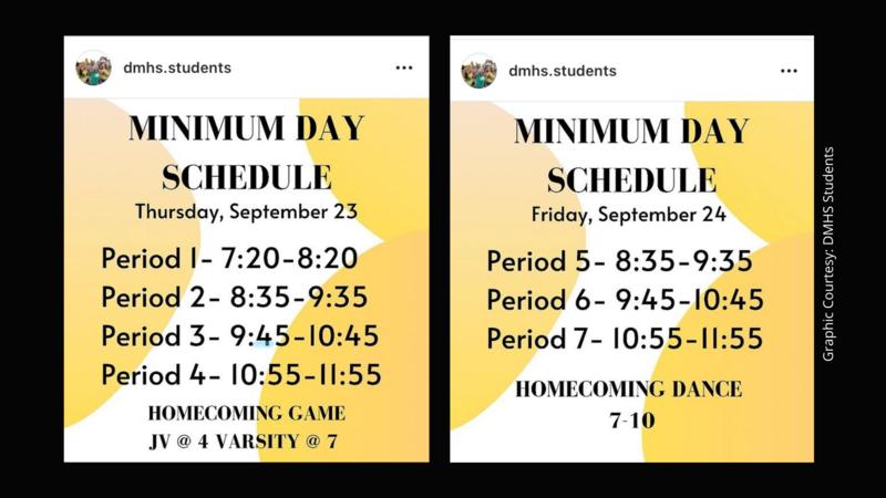 minimum day schedule sept 23 24