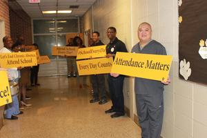 HLC Team Up for Attendance