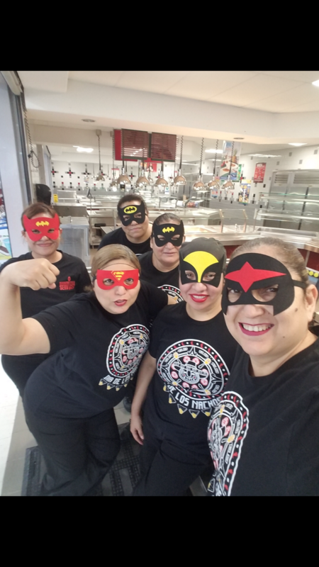 Lunch Superhero Day!