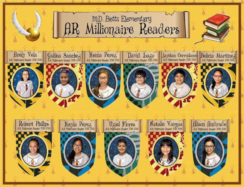 Image of Millionaire Readers 2019