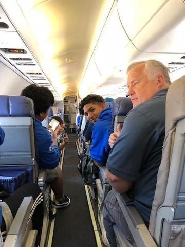 Flight to Kentucky