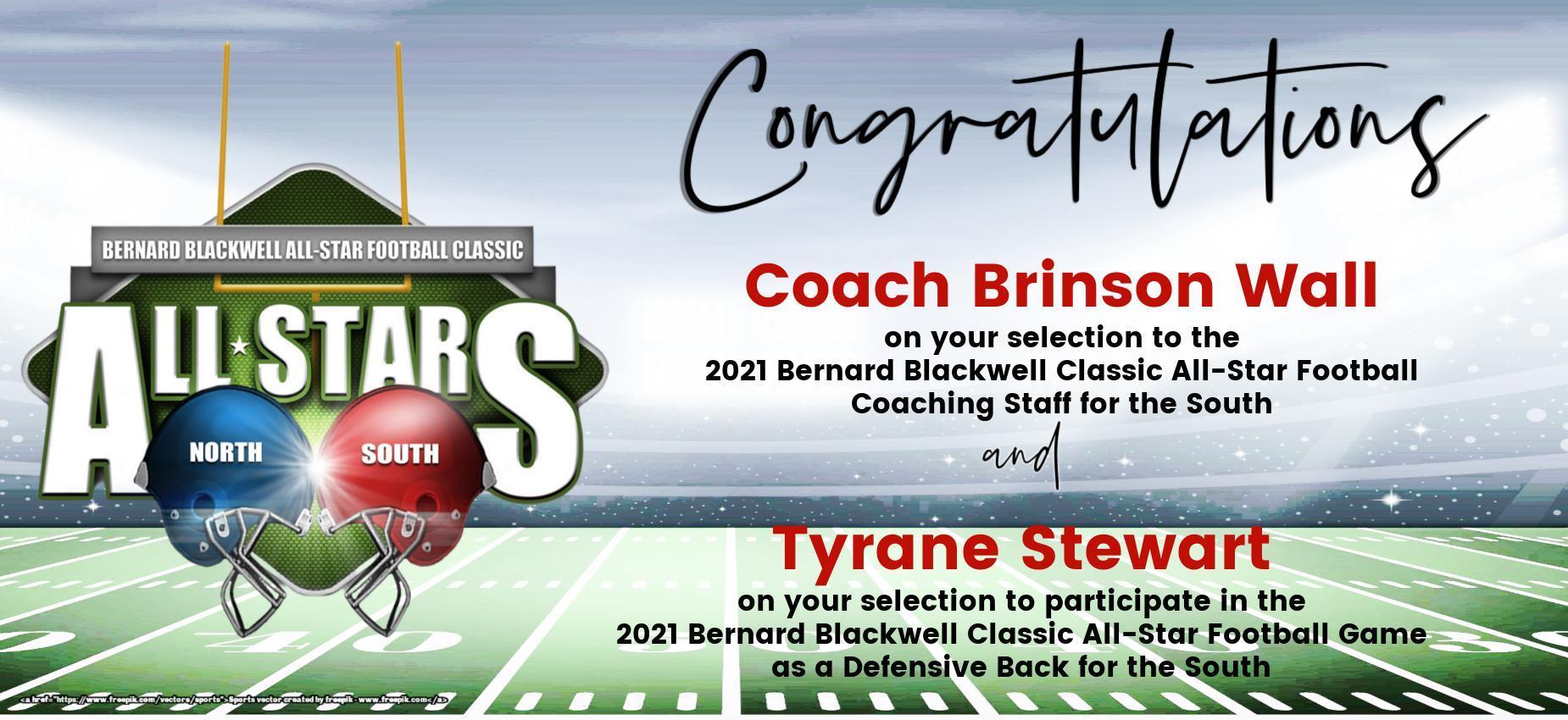 Coach Wall/Tyrane