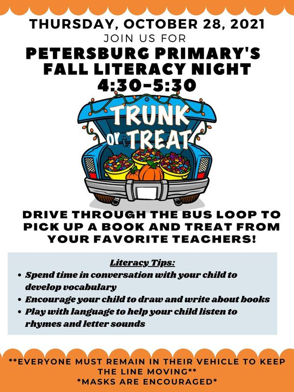 Fall Literacy Night and Trunk or Treat Featured Photo