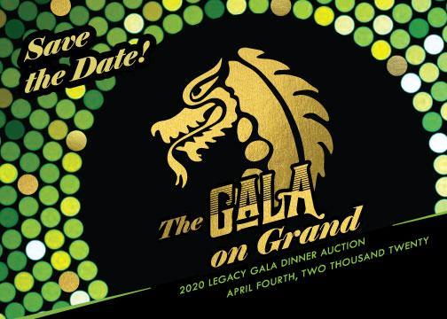 2020 Legacy Gala Dinner Auction