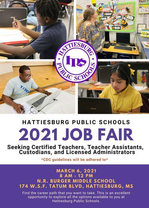 HPSD 2021 Job Fair | March 6, 2021 Featured Photo