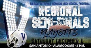 special graphic showing football game at the Alamodome