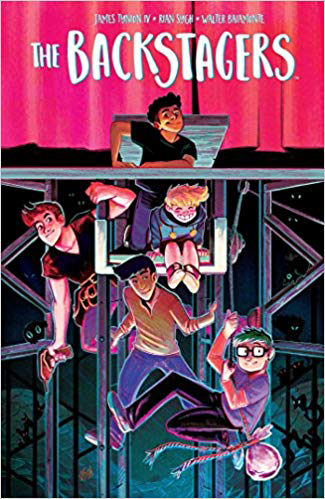Book cover for The Backstagers, Vol. 1