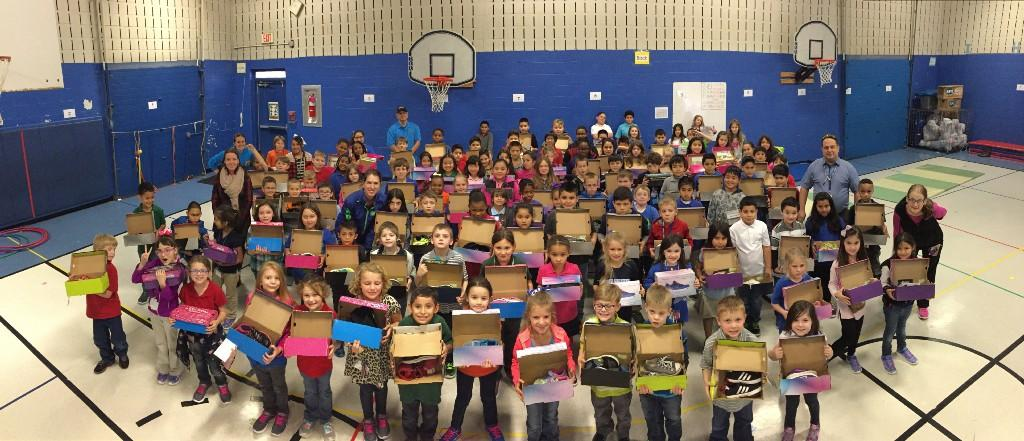 Liberty Runners Club receives new shoes