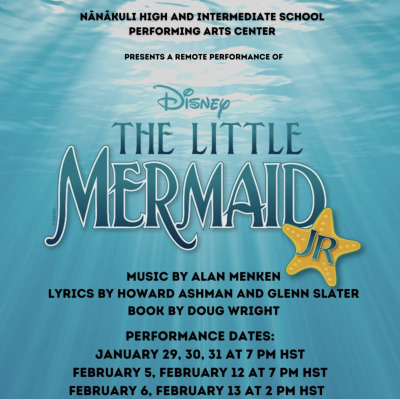 NPAC PRESENTS REMOTE PERFORMANCE OF THE LITTLE MERMAID JR. Featured Photo