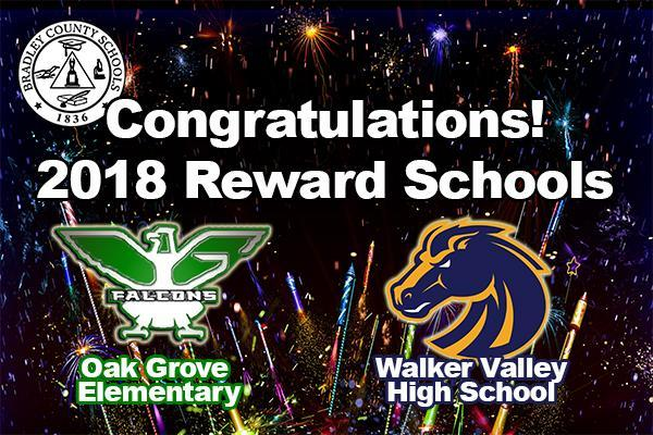 Reward Schools Announced