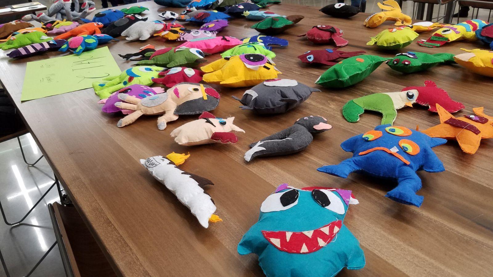 'Little Monsters' Sewing Project: Art 1 + Art 2