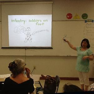 Teacher in ClassroomTeacher in Classroom
