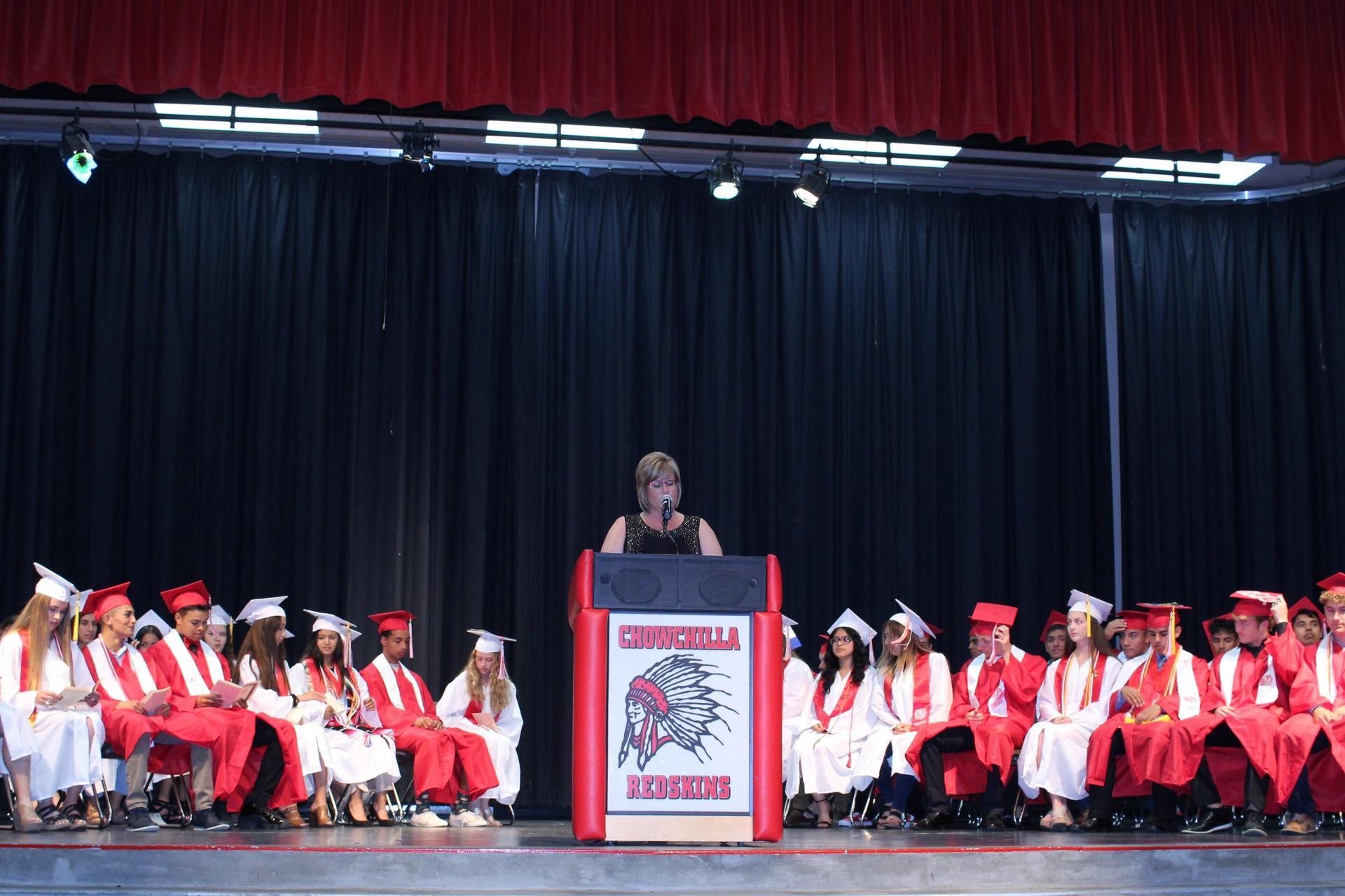 CUHS Principal Doreen Castillo