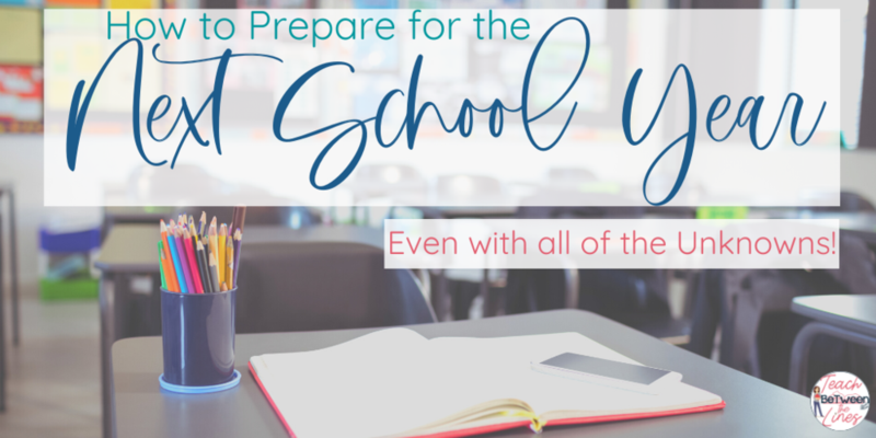 How to prepare for the Next School Year - 2020-2021